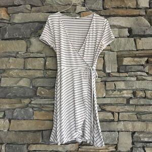 Lush Wrap T-Shirt Dress